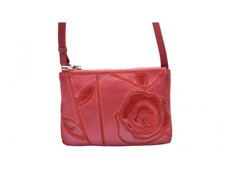 Сумка женская Giudi арт. 3436 красная