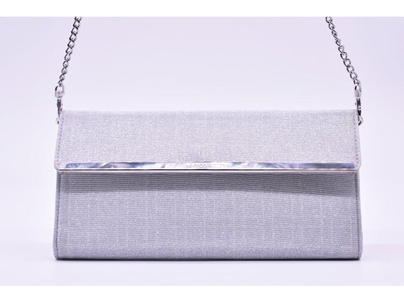 Сумка - клатч Marco Tozzi  арт.2659 серебро