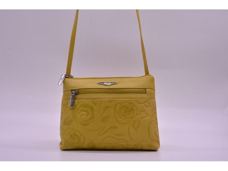 Сумка женская Giudi арт. 3521 желтая