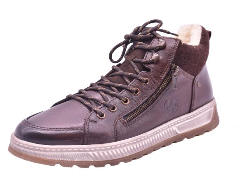 Ботинки Rieker арт.3217 коричневые