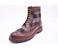 Ботинки Sioux  арт.1521 коричневые