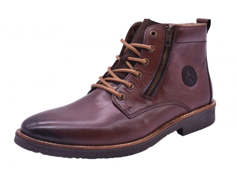 Ботинки Rieker арт.3218 коричневые
