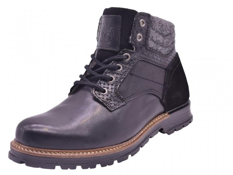 Ботинки  El Tempo арт.3322 черные