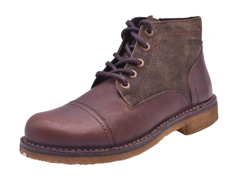 Ботинки  El Tempo арт.3264 коричневые