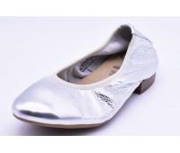 Балетки Caprice арт.2350 серебро