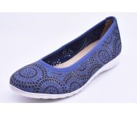 Балетки Caprice арт.2351 синие