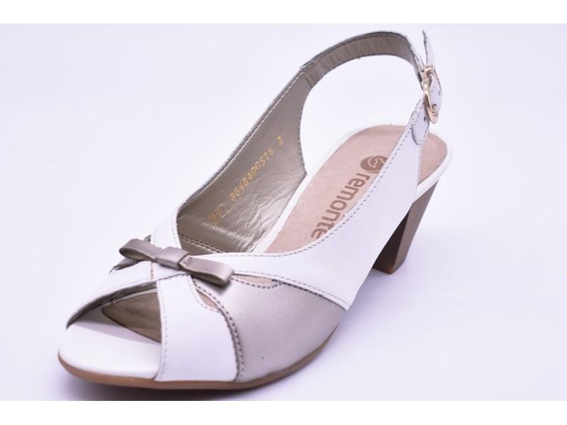 Туфли летниe Remonte  арт.2413 белые