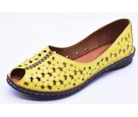 Туфли летниe Ergo  арт.2184 желтые
