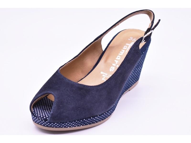 Туфли летниe  Tamaris  арт. 2395 синие