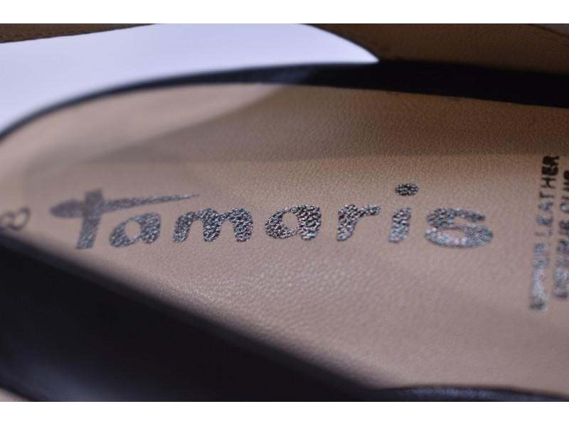 Туфли летние Tamaris  арт. 3974 черные