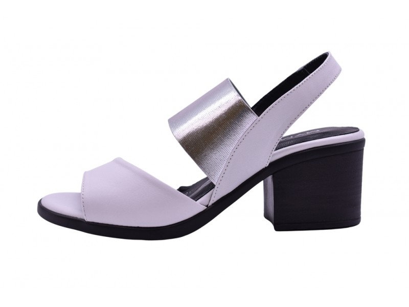 Туфли летние Mym арт. 3613 белые