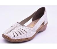 Туфли летниe Rieker арт. 2491 белые