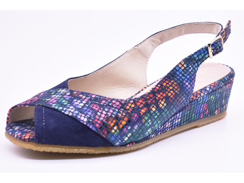 Туфли летниe Spiffy  арт.2341 синие
