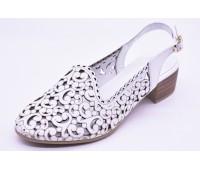 Туфли летниe Ergo  арт.2196 белые