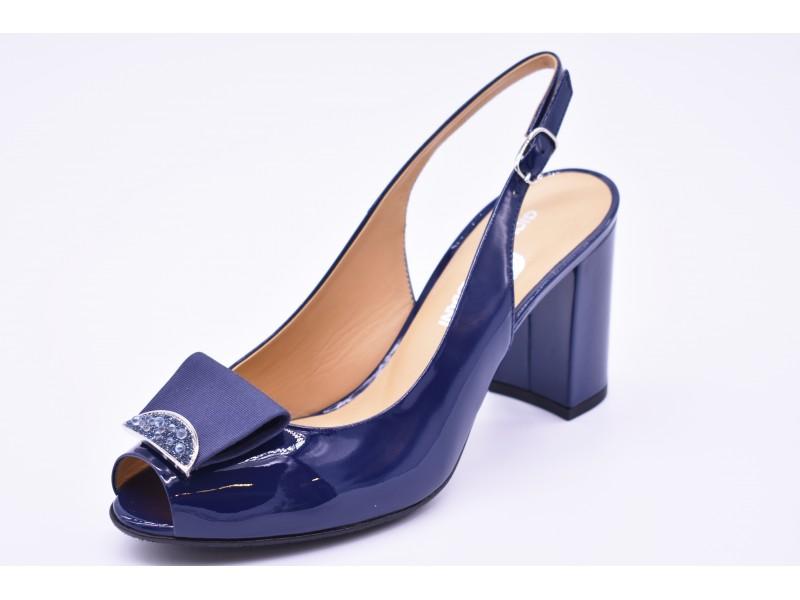 Туфли летние  Giovanni Fabiani  арт. 2675 синие