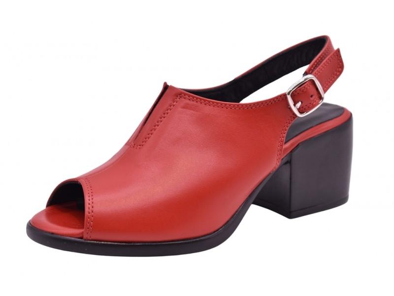 Туфли летние Mym арт. 3553 красные