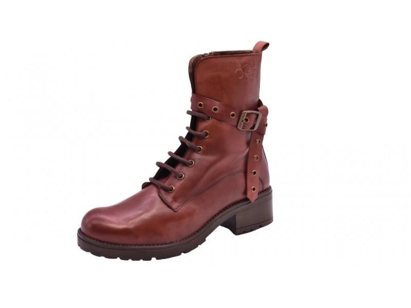 Ботинки El Tempo арт.3402 коричневые