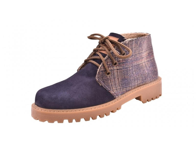Ботинки El Tempo арт.3403 синие