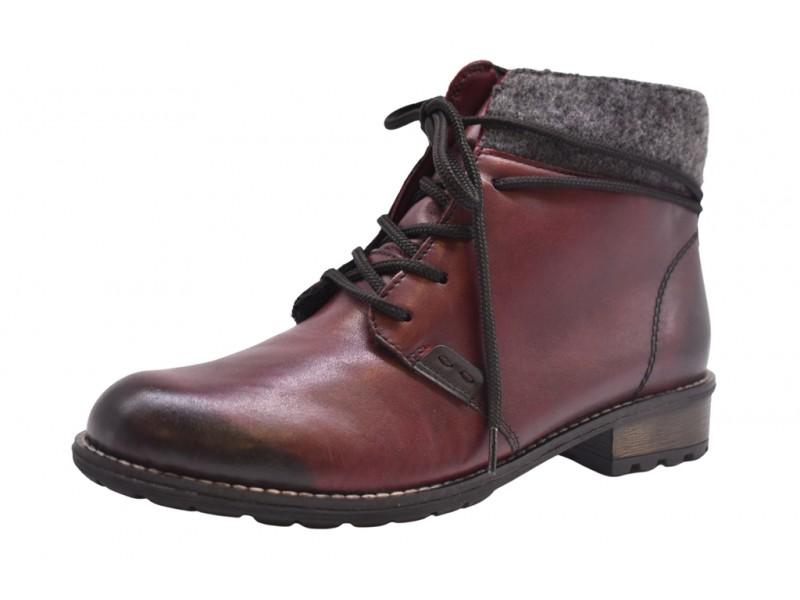 Ботинки Remonte  арт.4034 бордо