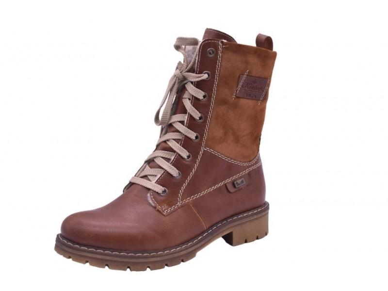 Ботинки Rieker арт.3210 коричневые