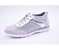 Полуботинки | Спортивная обувь Marco Tozzi 23723-20серебро.
