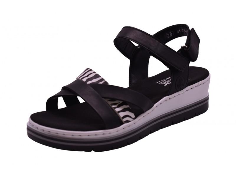 Туфли летние Rieker арт. 3962 черные