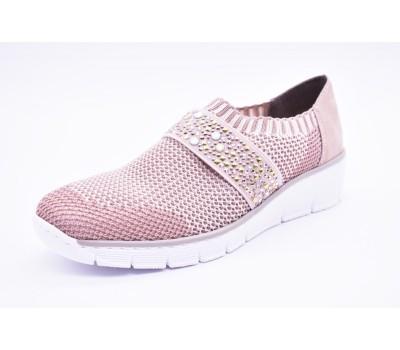 Слипоны   Спортивная обувь  Rieker 537T6/90