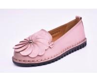 Слипоны | Балетки Madella арт.2752 розовые