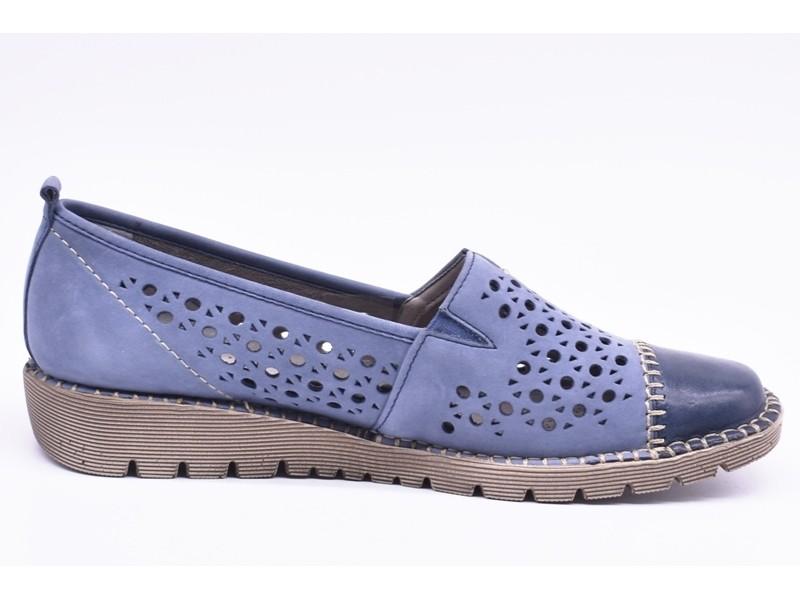 Туфли летниe Jenny  арт. 2010 синие