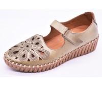 Туфли летниe Ergo  арт.2193 зеленые
